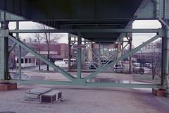 Tobin Memorial Bridge (KevinCollins00) Tags: usa boston america 35mm nikon fuji unitedstates superia massachusetts newengland fujifilm nikonf3 asa400 expiredfilm xtra c41 filmphotography colorfilm colourfilm 135film