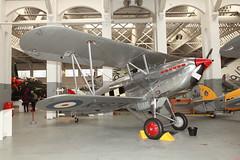 Hawker Fury 1 (Steve Dawson.) Tags: uk england canon eos march 1930s fighter duxford 5d british usm cambridgeshire ef2470mmf28lusm raf hawker mkii 26th imperialwarmuseum iwm 2016 f28l ef2470mm canoneos5dmkii hawkerfury1