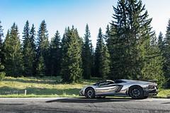Lamborghini Aventador Roadster (Future Photography International) Tags: mountains montagne switzerland photoshoot suisse geneva shooting genve lamborghini moutain v12 tysson aventador