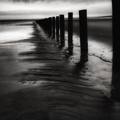 Groynes (Jane in the UK) Tags: groynes brean breanbay