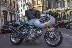 Ducati and rider. (foto.pro) Tags: bike festival bristol italian special motor ducati edition