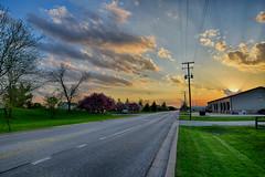 Spring Evening (kendoman26) Tags: sunset sky clouds landscape nikon tokina hdr morrisillinois nikond3300 tokina1228 nikhdrefexpro2 tokinaatx1228prodx
