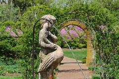 Ladew Gardens fountain (karma (Karen)) Tags: gardens dof azaleas bokeh bricks blossoms statues maryland arches fountains bushes portals monkton ladewtopiarygardens 4spring cmwdgreen harfordco