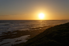 Sunset 2016-02-27 (charissadescande) Tags: ocean africa city blue sky mountain west tree heritage tourism nature rock table landscape southafrica island bay coast town natural symbol african background object south scenic landmark atlantic cape za easterncape touristic portelizabeth schoenmakerskop