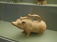 askos a forma di scrofa, Museo Archeologico Nazionale, Ferrara (Pivari.com) Tags: ferrara museoarcheologiconazionale askosaformadiscrofa