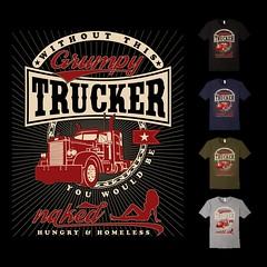 Grumpy Trucker (peaktee) Tags: dumptruck tshirt truckstop oldtruck bigtruck semitruck mytruck towtruck classictruck peterbilt 18wheeler truckers truckdriver 18wheelers worktruck newtruck 18wheels truckshow semitrucks peterbilts peterbilt379 dreamtruck peterbilt359 trucklove peterbilt389 truckyeah truckerlife truckfit trucksdaily truckslut 18wheelin