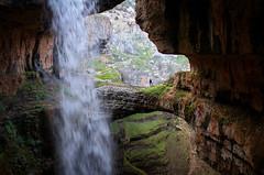 On Top, Baatara Gorge (jrseikaly) Tags: portrait lebanon nature canon jack person photography waterfall high rocks stream dynamic rocky walkway 7d gorge range lebanese hdr tannourine seikaly baatara jrseikaly