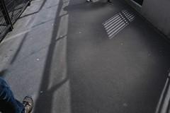 surfaces1 (lux fecit) Tags: light paris shadows mesh angles surface sidewalk
