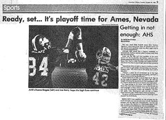 1986 AHS Football scanned newspaper article p024 dated October 28 1986 (ameshighschool) Tags: school sports newspaper football classmate classmates iowa scan highschool 1986 clipping highschoolreunion classreunion schoolmates schoolmate ahs athelete amesiowa ameshighschool ahsaa ahs1987 ameshighschoolalumniassociation ahs1986 ameshighclassof1986 ameshighclassof1987 1986ahs 1987ahs 1988ahs ahs1988 ameshighclassof1988