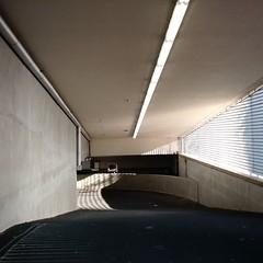light and shadow in Lantaren/Venster parking garage (milov) Tags: light shadow architecture composition phonecam square mirror rotterdam ramp kopvanzuid motox laspalmas lantarenvenster tweetme fbme instagram