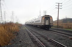 Happy B-day Amtrak (Fan-T) Tags: birthday street nyc ohio lake water 1 may route amtrak shore level late limited 48 45th csx berea 2016 e305 willowick