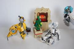 Merry Xmas 2015 !(8) (Loysnuva) Tags: christmas xmas tree fireplace lego system mecha mocs moc loys nuva icya bionifigs loysnuva mihibot bizibot