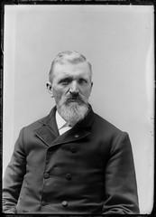 Portrait of a man (gordon_morales) Tags: glass plate negative