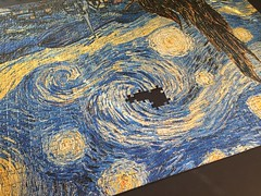 Almost (Jonathan Lurie) Tags: painting year puzzle photoaday vangogh oilpainting starrynight iphone vincentvangogh 2016 onephotoperday 366project iphoneonly