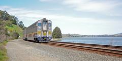 Amtrak8301BayPortCostaCA3-8-13 (railohio) Tags: california trains amtrak portcosta carquinezstrait amtrakcalifornia cabcar 030813