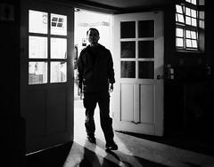 men's room (dr.milker) Tags: door people urban blackandwhite bw window public noiretblanc taiwan restroom taipei     negroyblanco      spotcinema huashancreativepark