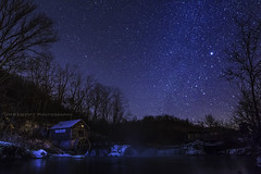 Hyde's Mill (UH82NVMy Photography) Tags: reflection mill water wheel stars waterfall timelapse control outdoor paddle hills serene promote promotecontrol