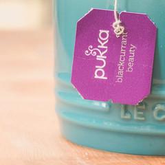 Fruity [Explored] (Kate H2011) Tags: wood uk macro cup vintage square words purple teal text letters indoor tags explore mug hmm pukka 2016 500x500 bsquare ef100mmf28macrousm explored macromondays katehighley blackcurrantbeauty