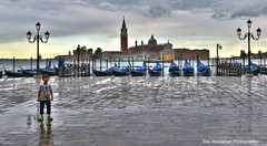 Venice in a rainstorm (Rex Montalban Photography) Tags: venice italy europe rexmontalbanphotography