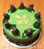 Outlander Themed Birthday Cake