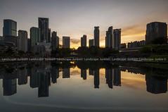 KLCC Symphony Lake (Landscape Junkie) Tags: reflections cityscape malaysia kualalumpur klcc sigma1020mm leefilters nikond90 landscapejunkie klccsymphonylake muhamadfaisalibrahim