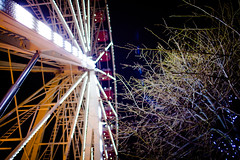 ferris wheel (HarveyNewman) Tags: wheel night canon scotland colorful edinburgh time fireworks mark iii scottish ferris newyear celebration hogmanay scotish 2015