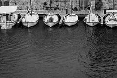 Six in a row (robertofaccenda.it) Tags: trip travel sea vacation espaa praia beach boat mar spain barca mare playa viaggi spiaggia holydays menorca vacanze spagna baleares minorca ciutadellademenorca baleari ciudadella