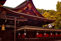 The Shrine (kewpiedollchan) Tags: japan kyoto shrine traditional kitano tradition tenmangu kamishichiken