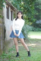 Clara@ () Tags: clara portrait girl female model glamour pretty outdoor taiwan taipei   wat tamron    2016    a007