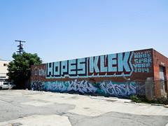 (gordon gekkoh) Tags: graffiti losangeles hopes klek crae fishe versuz