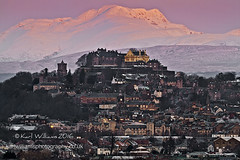 Stirling Daybreak (Shuggie!!) Tags: houses winter snow mountains castles sunrise landscape dawn scotland williams stirling churches hills karl stirlingshire zenfolio karlwilliams