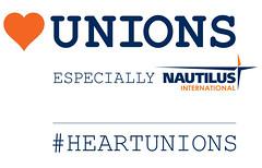 Heart Unions Week Nautilus logo (nautilus.international) Tags: photo union navy competition maritime merchant members nautilus heartunions