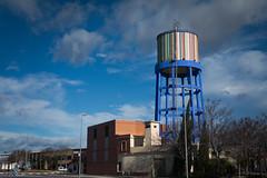 Colorist water tower (lucas2068) Tags: water landscape agua torre tank paisaje cistern aljibe