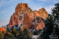Dusting (craig goettsch) Tags: park winter snow nature nikon colorado ngc gardenofthegods coloradosprings 2016 d810