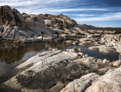 Surprise Tank (DPRPhoto) Tags: desertlandscape rockformations joshuatreenationalpark waterinthedesert surprisetank