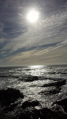sparkling atlantic ocean (rocknrolltheke) Tags: ocean sea sun seascape reflection portugal water backlight clouds reflections meer wasser cloudy wolken sunny atlantic porto sonnig sonne atlanticocean oporto reflektion gegenlicht waterscape atlantik wolkig reflektionen ozean 27365 atlantischerozean