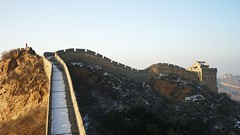 DSC09732 (rickytanghkg) Tags: china morning winter snow cold landscape ancient asia ruin thegreatwall