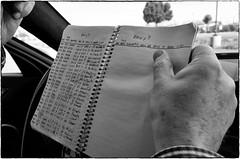 Michael's Log Book, February 09, 2016 (Maggie Osterberg) Tags: california bw car notebook blackwhite bmw gr mcb ricoh pleasanton silverefexpro2 183mmf28