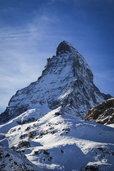 (thecodemaker) Tags: blue winter snow alps clouds switzerland zermatt matterhorn alpi nori elvetia iarna albastru zapada nikond80