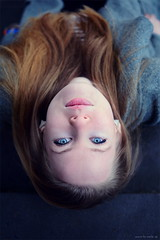 """""""blue eyes"""" (fw-photography) Tags: city blue portrait people girl beauty face fashion female 35mm hair model eyes nikon pretty emotion blueeyes young portraiture styl fwmelle fwphotograph"""