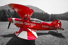 Pitts S-2B (Michael from Austria) Tags: red bw biplane aerobatic pitts ferlach s2b glainach herbertschmidt dezzt lokg