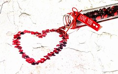 Love Will Conquer All  (Explore) (GPC- photos) Tags: red love hearts bottle heart valentine explore explored canon700d