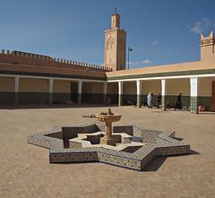 Koranic Library. Tamegroute, Morocco (nisudapi) Tags: fountain library minaret morocco nophotography kasbah quranic 2015 tamegroute koranic