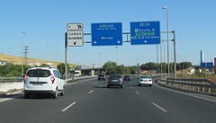 A-66-1 (European Roads) Tags: de la sevilla andaluca spain plata andalusia alto venta santiponce autova a66 gerena algaba