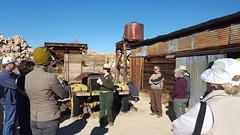 Taking a ranger-led tour of Keys Ranch
