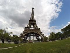 Paris - La Tour Eiffel (Graldine Parrinello) Tags: paris france eiffeltower toureiffel gopro goprofrance goprofr