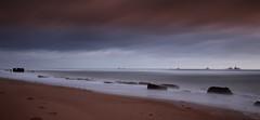 Aberdeen Beach (Explored) (PeskyMesky) Tags: longexposure sunset sunrise scotland aberdeen northsea northeastscotland aberdeenbeach