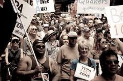 TPPA 2016-36 (domhartnett) Tags: newzealand democracy protest auckland aotearoa queenstreet skycity aoteasquare tpp tangatawhenua thisiswhatdemocracylookslike tppa tetiritiowaitangi thetreatyofwaitangi realchoice stoptpp tppanoway tranpacificpartnership itsourfuture noaltpp