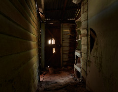 The Passageway. (Ian M's) Tags: abandoned cottage victoria