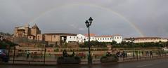 IMG_5802 Stitch (2) Cuzco Rainbow at San Domingo (alex.2607) Tags: christmas light peru beautiful inca cuzco